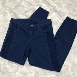 j Brand Kinsey Nightfall Tuxedo Style Jeans